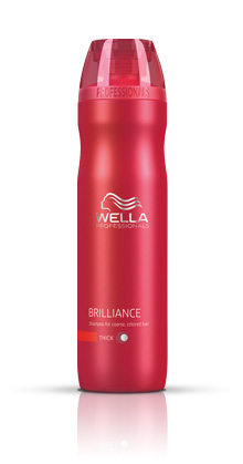 Wella Brilliance Shampoo for Course/Thick Hair